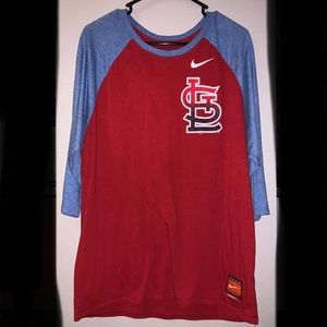 Nike St. Louis baseball shirt